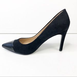Zara Trafaluc Black Classic Pumps Size 39